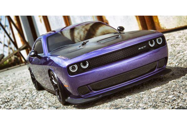 1/10 Scale Radio Controlled Electric Powered 4WD FAZER Mk2 FZ02L Series readyset DODGE Challenger SRT Hellcat Plam Crazy Purple 34415T1