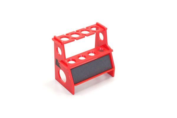 Shock Absorber Pits Holder W/Magnet/Red 36218R
