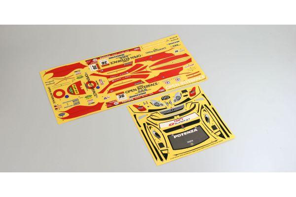 Sponsor Decal(OPEN INTERFACE TOM'S SC430 39277-1
