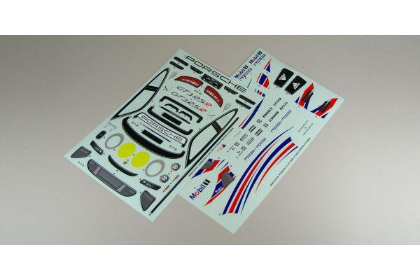 スポンサーデカール(ポルシェ911 GT3 RSR)  39285-1