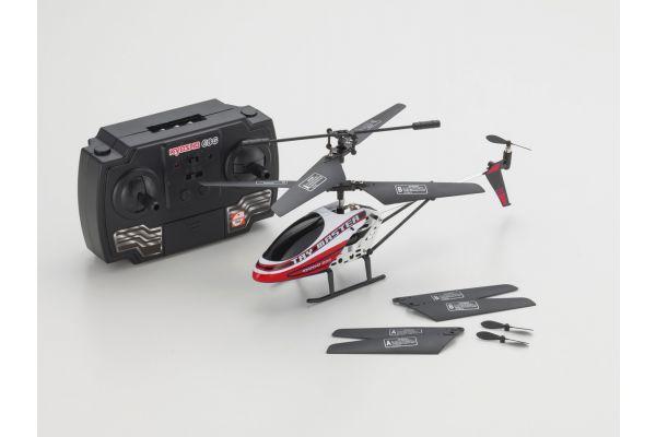 トライマスター3 GYRO レッド レディセット (3chジャイロ搭載赤外線ヘリコプター) 54100R
