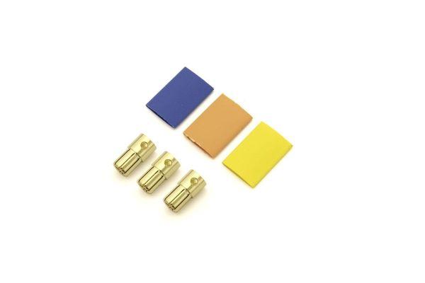 6.5mm ヨーロピアン コネクター 金色 3pcs 70601-01