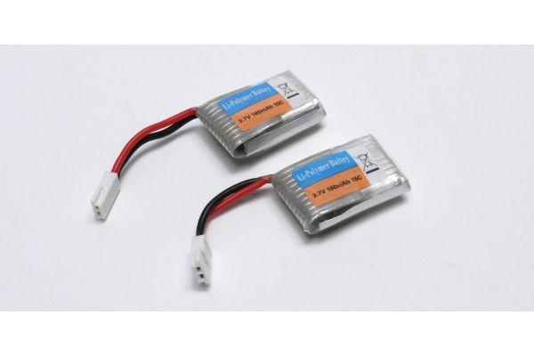 3.7V-180mAh Li-po バッテリー(FBL70・80/HFP80/2pcs) 71821