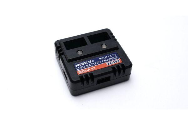 USB 3.7V Li-Po Twin Charger 72612-1