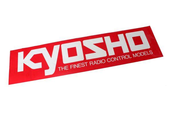 KYOSHO Logo Sticker (S/W106xH35) 87002