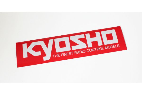 KYOSHO ロゴステッカー (M/W290xH72)  87003