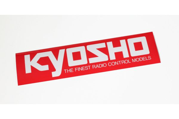 KYOSHO ロゴステッカー (L/W360xH90)  87004