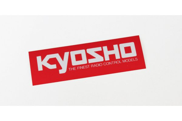 KYOSHO ロゴステッカー (LL/W900xH200)  87005