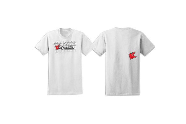 KYOSHO K Fade 2.0 T-Shirt(White/S)  88001S