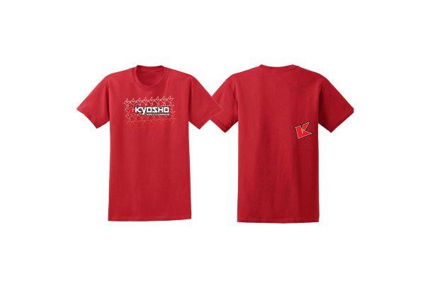KYOSHO K フェード 2.0 Tシャツ(レッド/M) 88002M