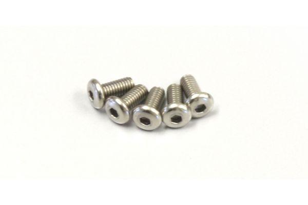 ボタンビス(M2.6x6)(ヘックス/チタン/5入) 1-S12606HT