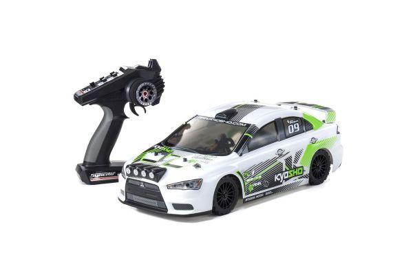 FAZER VE-X Lancer Evolution X KX3 1/10 EP(BL) 4WD Readyset RTR 30919T1