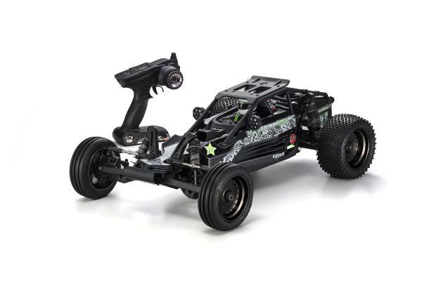 スコーピオン XXL カラータイプ2: ブラック 1/7 GP 2WD レディセット 31873T2