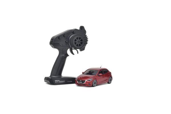 MINI-Z FWD MAZDA Demio XD Touring Soul Red Premium Metallic Readyset RTR 32422R