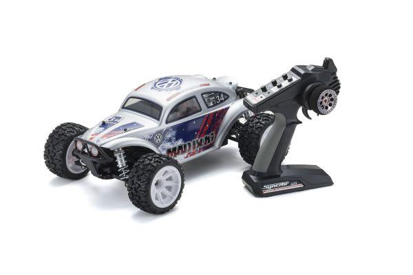 マッドバグVEi  カラータイプT3: シルバー 1/10 EP 4WD レディセット 34354T3