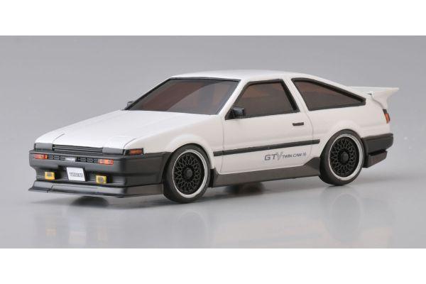 R/C EP TOURING CAR Toyota SPRINTER TREUNO AE86 Aero Version White 30532W