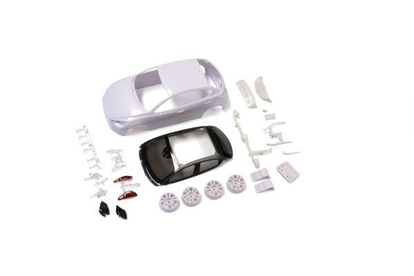 MAZDA Demio XD White body set(w/Wheels) MZN188