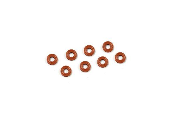 X断面型 Oリング(P3/ダンパー用/オレンジ)8ヶ入  ORG03XR