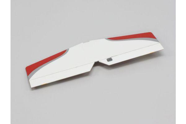 尾翼セット (レッド/カルマートST EP 1400)  A0062R-13