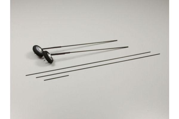 Carbon Landing Gear Set A0771-09