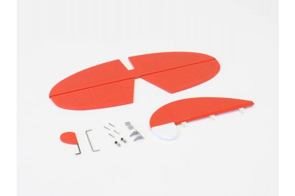 Tail Wing Set  (Macchi M33 EP/GP30 Red) A1081-13R