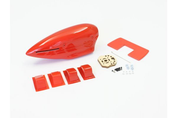 Nacelle Set  (Macchi M33 EP/GP30 Red) A1081-32R