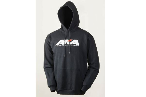 BLACK HOODY SWEATSHIRT (L) AKA98104L
