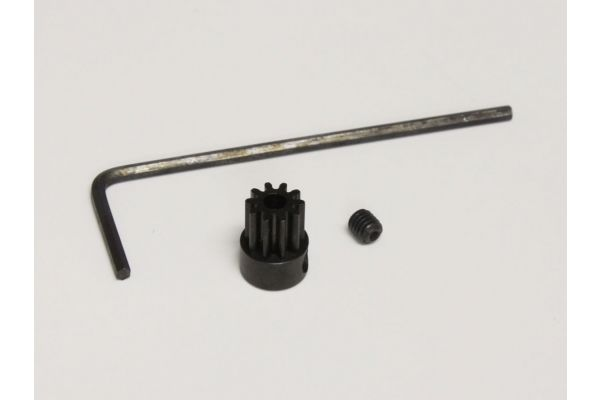 Steel Pinion Gear(9T/@12 RACING) AZW107-09