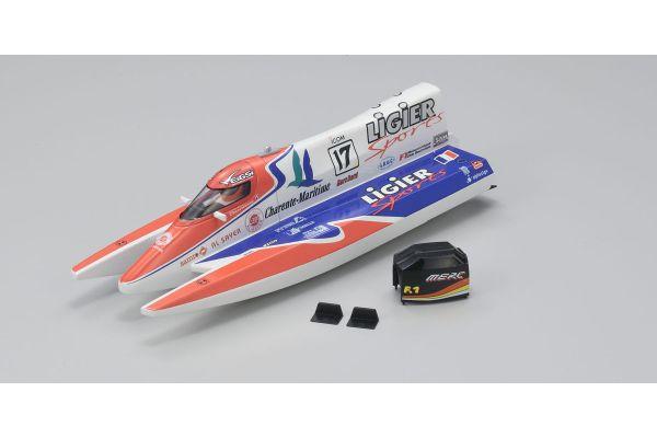 Mini-Z Formula Boat Hull Set (LIGIER No.17) BM01LS-17