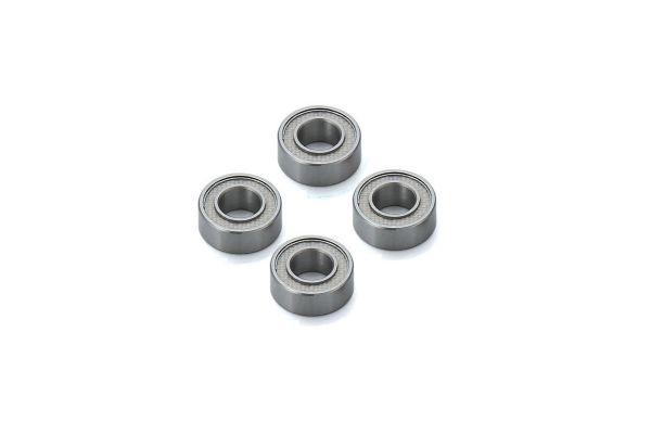 フッ素樹脂シールドベアリング(5x10x4/4Pcs)  BRG001TS