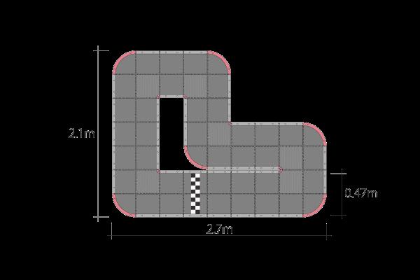 ミニッツ グランプリ サーキット30 ショート (48pcs) 87032