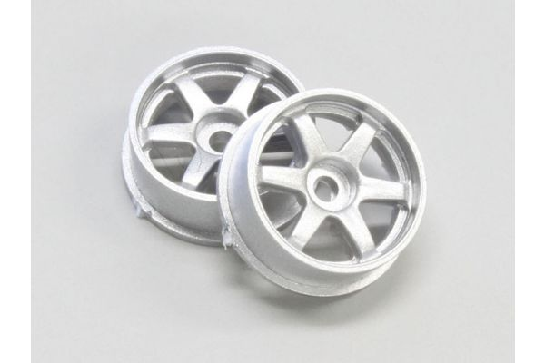 Wheel Set (17/For Front,Rear/Silver/2Pcs DNH001S-17