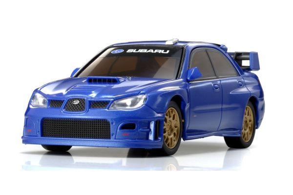 R/C EP RACING CAR SUBARU IMPREZA WRC 2006 (PLAIN COLOR VERSION) Metallic Blue 32301MB