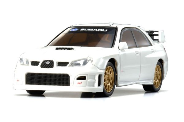R/C EP RACING CAR SUBARU IMPREZA WRC 2006 (PLAIN COLOR VERSION) White 32301W