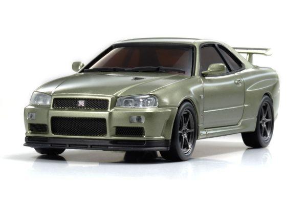 R/C EP RACING CAR NISSAN SKYLINE GT-R V-SpecII Nur (R34) Millennium Jade 32401MJ