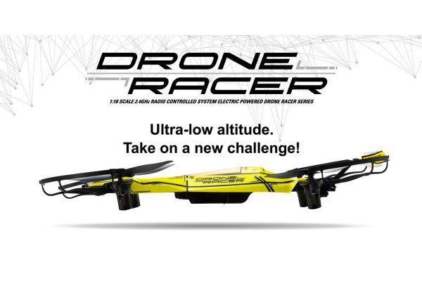 DRONE RACER ZEPHYR Smashing Yellow Readyset RTF 20572Y