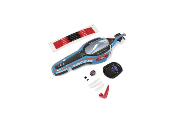 Body Set(b-pod Blue/pre-painted) DRB003BL