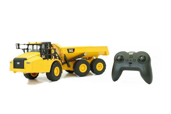 1/24 RC CAT 建機シリーズ 745 Articulated Truck (アーティキュレート トラック:ダンプ) 56625