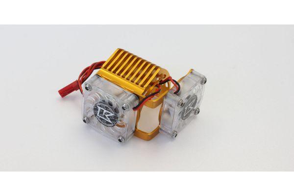 Aluminium Motor Heat Sink(Double Fans) EZW011