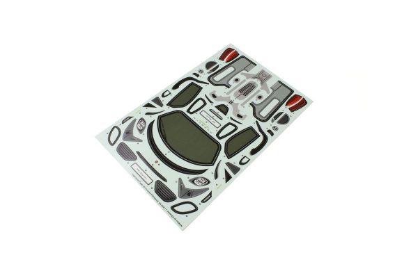 Decal Set PORSCHE 918 Silver FAZER VE FAB156-1