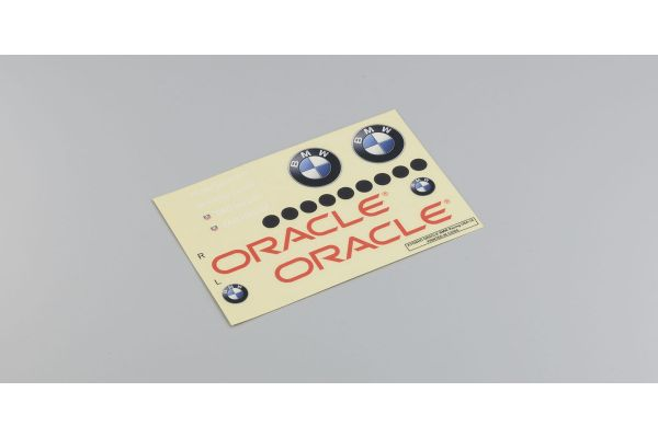 Decal(ORACLE BMW Racing) FO23