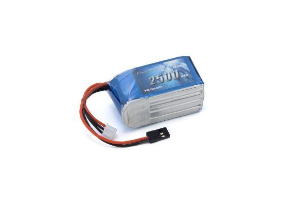 Gens ace LiPo 2500 (7.4V/レシーバー用/俵型) GAB2201