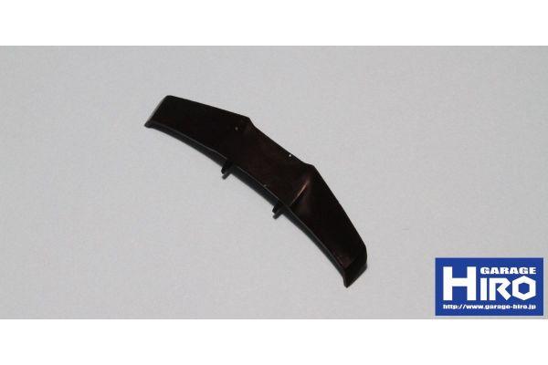 ウイング ver.2 (ミニッツ コルベット ZR-1用) (未塗装・ブラックレジン) KOS-GHA189