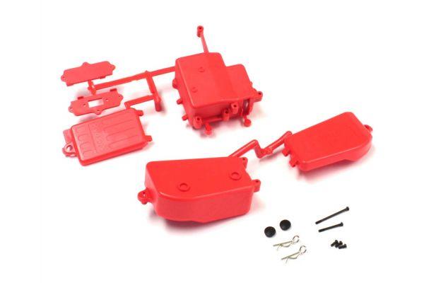 バッテリー&レシーバーボックスセット(蛍光レッド/MP10/MP9) IFF001KRB