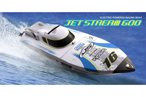 1/20 Scale Radio Controlled Electric Powered Boat EP JETSTREAM 600 Color Type2  r/s 40132T2