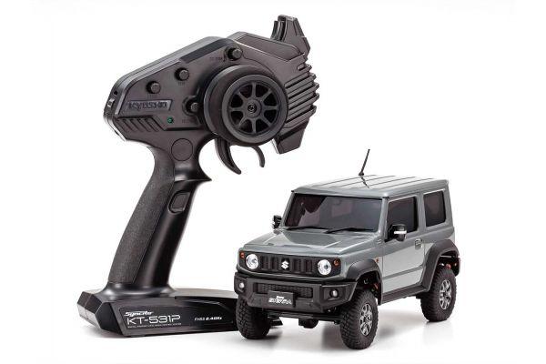 ラジオコントロール 電動 クローリングカー ミニッツ4×4シリーズ レディセット スズキ ジムニーシエラ  ミディアムグレー 32523G