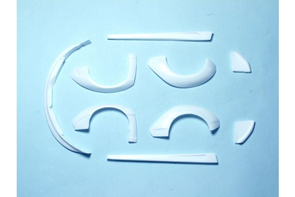 エアロパーツ ver.3 (ミニッツ・マクラーレン 12C用)  (未塗装) KOS-GHA142