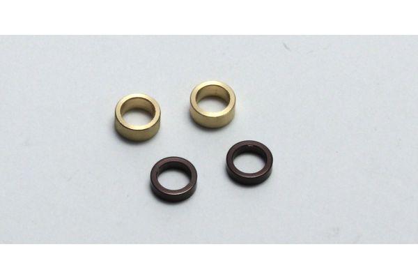 Axle Collar(Gunmetal/R-Hub Off-4.7/ZX6/Z LA253GM