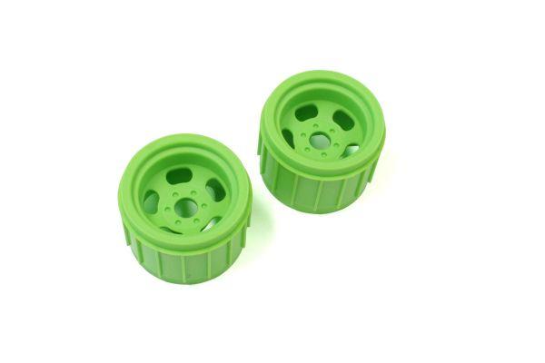 Wheel (F Green/2pcs/Mad Crusher) MAH402KG