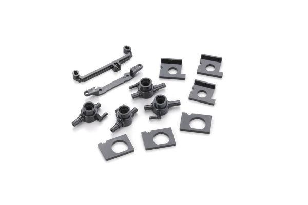 Knuckle & Motor Holder Set(MINI-Z AWD) MD004